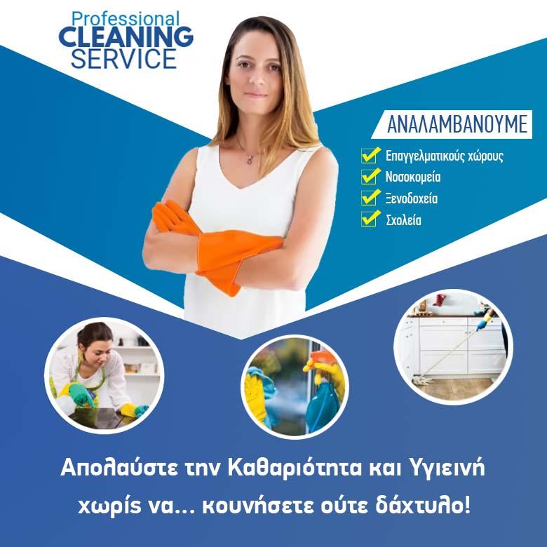 επικοινωνία συνεργείο καθαρισμού στεργιαδης